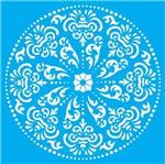 Stencil Litocart 30x30 LSPG-026 Mandala Arabescos