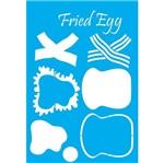 Stencil Litocart 30x20 LSS-043 Ovo Frito