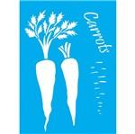 Stencil Litocart 30x20 LSS-028 Cenouras