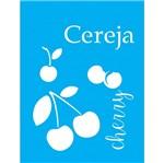 Stencil Litocart 20x15 LSM-043 Cereja