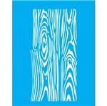 Stencil Litocart 20x15 LSM-045 Nó de Madeira