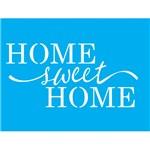 Stencil Litocart 20x15 LSM-065 Home Sweet Home