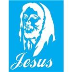 Stencil Litocart 20x15 LSM-083 Jesus