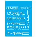 Stencil Litocart 20x15 LSM-133 L'oréal