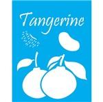 Stencil Litocart 20x15 LSM-107 Tangerina