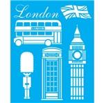 Stencil Litocart 25x20 LSG-051 London