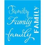 Stencil Litocart 25x20 LSG-071 Family