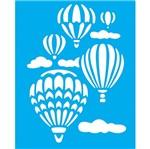 Stencil Litocart 25x20 LSG-125 Balões