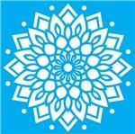 Stencil Litocart 20x20 LSQ-069 Mandala Ornamental