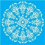 Stencil Litocart 20x20 LSQ-072 Mandala Medieval