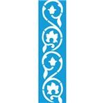 Stencil Litocart 29,5x8,5 LS-029 Arabesco Flores