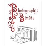 Stencil OPA 20x25 1764 Câmera Antiga