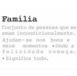Stencil OPA 20x25 2724 Frase Significado Família