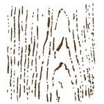 Stencil Opa 20x25 Nó de Madeira 1450