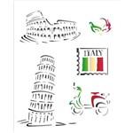 Stencil OPA 20X25 Países Itália 1329