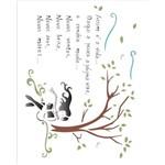 Stencil Opa 20x25 Poema Vida 1336