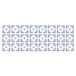 Stencil OPA 10x30 1081 Estampa Flor Geométrica