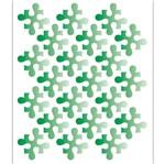 Stencil OPA 15x20 2044 Quebra Cabeça