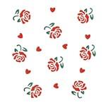 Stencil OPA 15x20 1008 Estamparia Rosas