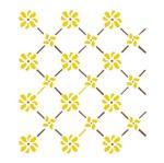 Stencil OPA 15x20 244 Cerca Flores
