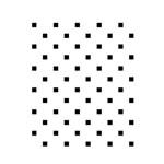 Stencil Opa 15x20 Quadrados Micro 745