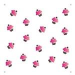 Stencil OPA Duplo 14X14 Micro Cupcakes 1172