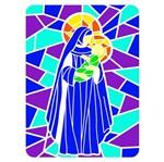 Stencil OPA Natal 20x25 2741 Vitral Nossa Senhora 2