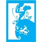 Stencil para Pintura 30x20 Homem e Mulher Lss-002 - Litocart