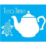 Stencil para Pintura 20x15 Tea Time Lsm-003 - Litocart