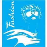 Stencil para Pintura 25x20 Mulher Fashion Lsg-014 - Litocart