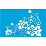 Stencil Retangular Arabescos 21x34,4 St-019 Litoarte