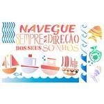 Stencil ST 367 Marítimo Barcos