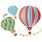 Stencil STR 043 Balões de Ar Quente