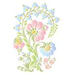 Stencil STR 072 Arabesco Floral Bauer