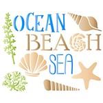 Stencil STR 080 Corais Praia