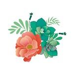 Stencil STXX 060 Flores Tropicais