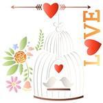 Stencil STXX 069 Gaiola Love