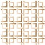 Stencil STXX 083 Geométrica Quadrados