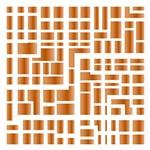 Stencil STXX 085 Geométrica Retângulos