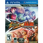 Street Fighter Vs Tekken - PS Vita