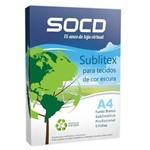 Sublitex Profissional para Tecido Escuro A4 - 5 Folhas - Padrão OBM