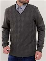 Suéter Masculino Chumbo