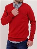 Suéter Masculino Vermelho
