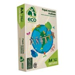 Sulfite Reciclado A4 75G 500 Folhas Ecomillenium