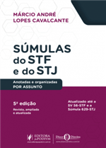 Súmulas do STF e STJ Anotadas e Organizadas por Assuntos (2019)
