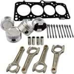 Super Kit Forjado AP 2.0 8V Turbo Bloco Alto: Pistões 83,5mm + Bielas 154mm + Pinos + Junta 0,5mm Prisioneiros de Cabeçote 118mm
