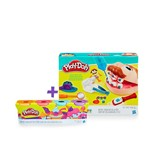 Super Kit Play Doh Dentista com 4 Potes - Hasbro