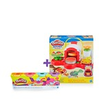 Super Kit Play Doh Forno de Pizza com 4 Potes - Hasbro