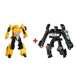 Super Kit Transformers Bumblebee e Barricade - Hasbro