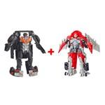 Super Kit Transformers Shatter e Hot Rod - Hasbro
